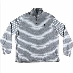 Polo By Ralph Lauren 1/4 Quarter Zip Sweater XL